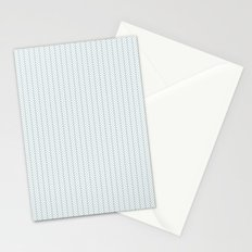 PATTERN: BLUE WAVE LINES Stationery Cards