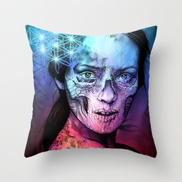 Death's Bride Throw Pillow