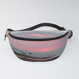 Texture Filled Clouds Fanny Pack