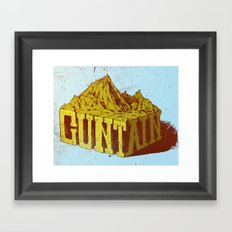 Cuntain Framed Art Print