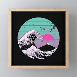 The Great Vapor Aesthetics Framed Mini Art Print