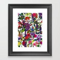 Botanical Butterflies Framed Art Print