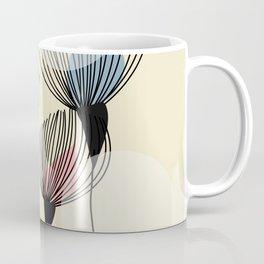 Retro Minimal Flowers Coffee Mug