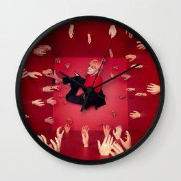 V Wall Clock