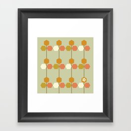 Hexagon Framed Art Print
