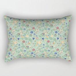 Scandinavian Paisley Rectangular Pillow