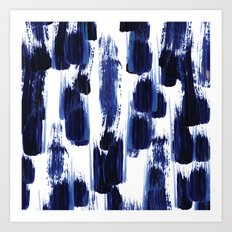 Blue mood Art Print