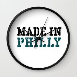 Made In Philly Wall Clock