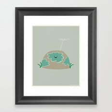I Lichen You a Lot Framed Art Print