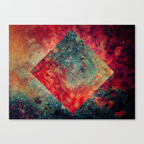 Random Square Canvas Print