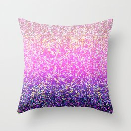 Glitter Graphic Background G104 Throw Pillow