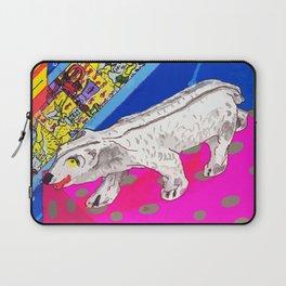 White Bear Laptop Sleeve