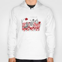 poppies Hoodies featuring Poppies by Shelby Ticsay