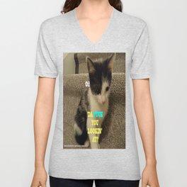 Sophia The Cat #3 [Tex's Owner] Unisex V-Neck