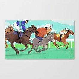 Racing Horses Canvas Print