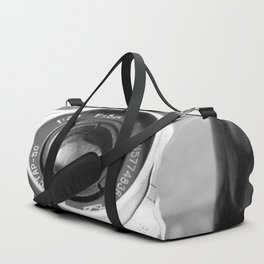 Accessories from old film cameras. Duffle Bag