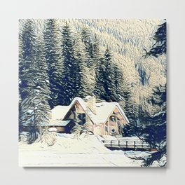 Weekend Getaway Metal Print