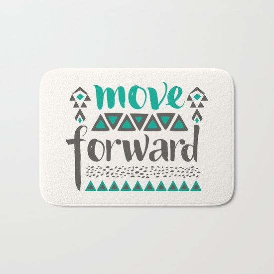 Move Forward Bath Mat