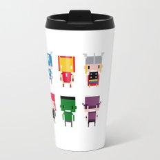Pixel Avengers Travel Mug