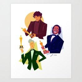 Feeling Scene - The Oscars Art Print