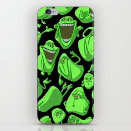 Fifty shades of slime. iPhone Skin