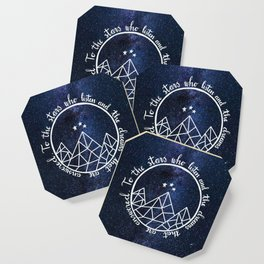 ACOTAR - To The Stars Coaster