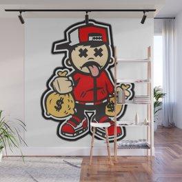 Street-Hustle Design Co. Wall Mural