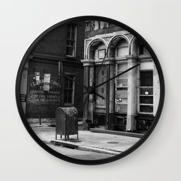 Philadelphia Streetlife Wall Clock