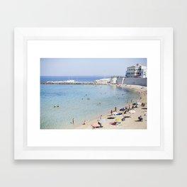 Gallipoli Puglia Italy Framed Art Print