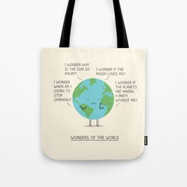 Wonders of the world Tote Bag