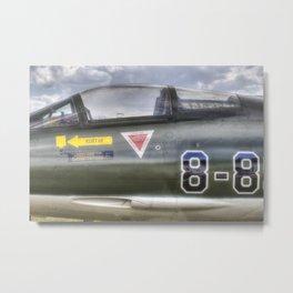 Turkish Air Force F104G Starfighter Metal Print