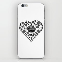 I Love Knitting | Wool Needle Heart Sewing Hobby iPhone Skin