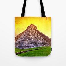 Mexican Pyramid Tote Bag