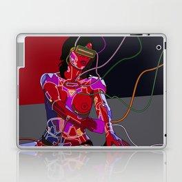 Jessica Biel 80s cyborg Laptop & iPad Skin