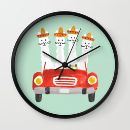 The four amigos Wall Clock