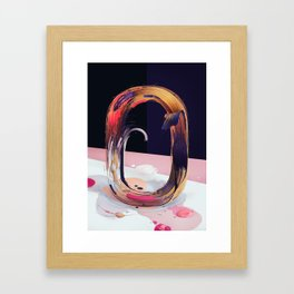Atypical 0 Framed Art Print