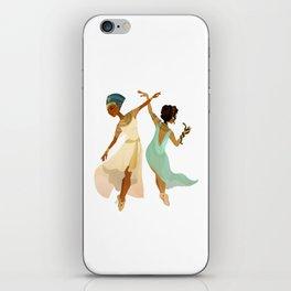 Ballerina Nefertiti & Cleopatra iPhone Skin