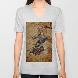 Gothic Autumn Unisex V-Neck