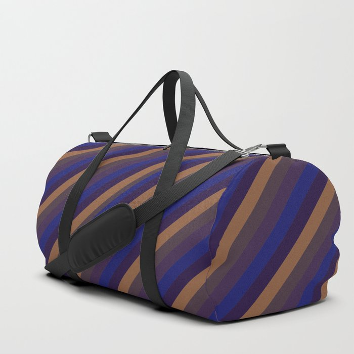 Warm Western Vintage Duffle Bag By Sbari