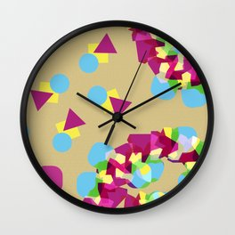 Color Forms Wall Clock