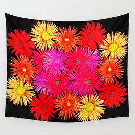 Bouquet on display Wall Tapestry