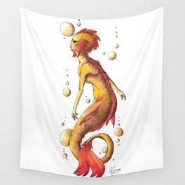Mermaid 4 Wall Tapestry