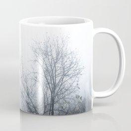 Trees in a foggy day Coffee Mug
