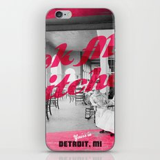 Detroit Boat Club iPhone & iPod Skin