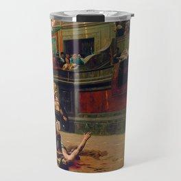12,000pixel-500dpi - Jean-Leon Gerome - Pollice Verso - Digital Remastered Edition Travel Mug
