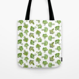 Broccoli - Scattered Tote Bag