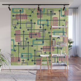 Mid Century Modern Abstract Pattern 832 Wall Mural