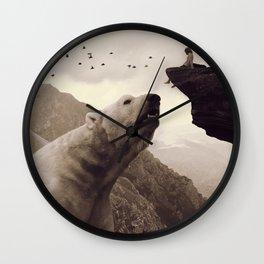 tutelary Wall Clock