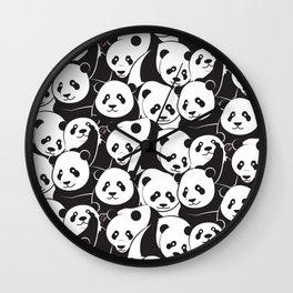 Pandamic Wall Clock