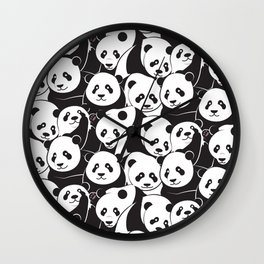 Pandamic Wall Clock